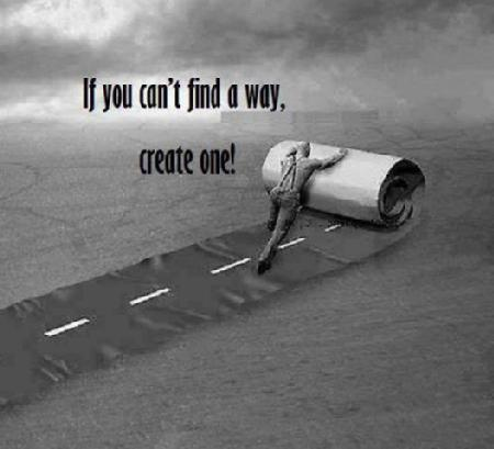 Leadership make you own path by Richard Gourlay