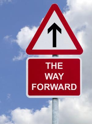 The way forward in business, clear vision and direction supported by a supportive culture and a clear business plan, by Richard Gourlay
